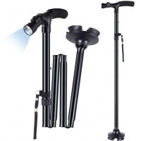 Folding Cane with LED Light