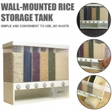 Wall-Mounted Assorted Grain Rice Bucket