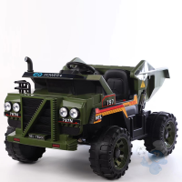 Two Seaters 4×4 Off-Road 12 V Ride On Camoflage Dump Truck with 2.4G Remote