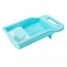 Mini Anti-slip Washboard Household Cleaning Washtub Tool for Underwear Socks