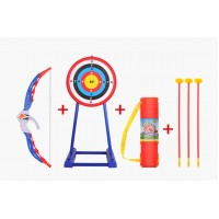 777-715 Kids Toy Archery Bow and Arrow Set with Target and Stand