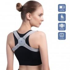 Smart Back Posture Corrector Trainer with Intelligent Sensor Vibration Reminder