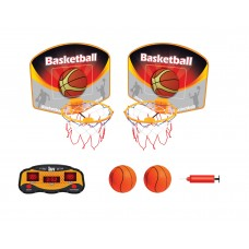Electronic Basketball Set with Wireless LED Screen Board - QC14012