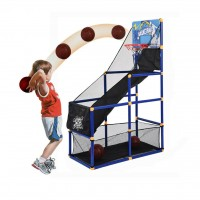 HX Sport Kids Indoor/Outdoor Basketball Hoop Arcade Game Set - 777-448