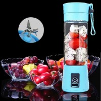 Mini Portable Blender USB Rechargeable Mixer Juicer 380mL Bottle for Smoothies - Shakes - Fruit Mixer