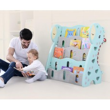 Children Cartoon Giraffe Themed Bookshelf