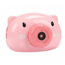 Cute Cartoon Pig Piggy Bubble Camera