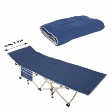 Toytexx Folding Portable Camping Bed Indoor/ Outdoor Bed with Portable Carrying Bag -190X70X45CM.