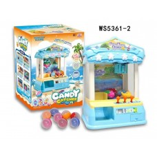 Claw Toy Catcher Machine / Prize Machine with LED Lights and Sounds-WS5361-2
