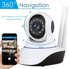 OUYAWEI V380 Cloud Storage WiFi IP Camera Premium Webcam Phone Remote Office Night Cam U.S Plug