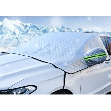 Car Windshield Snow Cover, Waterproof with Mirror Cover All Weather Protection - Small Size for Sedans and Compact SUVs