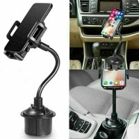Car Mount Adjustable Gooseneck Cup Holder Cradle For Universal Cell Phone 1011
