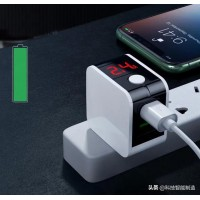 Dual USB Digital Display Auto Shut off Charging Power Adapter