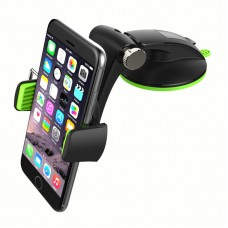 Universal 360 Degree Foldable Sucker Car Windshield Holder Desktop Phone Clip Stand Mount - Q001