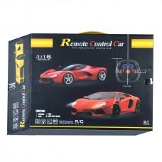 Toytexx 1:18 Scale 4-Channel R/C Sports Car Remote Control Car with Light RC Vehicle - YF668