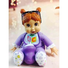 Toytexx 10 Inch Baby Dress Up  Electronic Singing Playdoll for Children BEBE DaDa