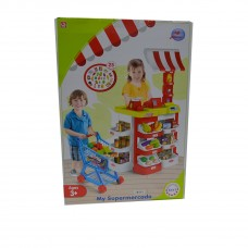 Toytexx Children Supermarket Pretend Play Set-My Supermercado