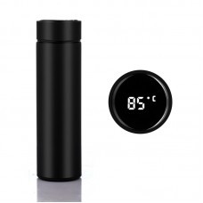 Stainless Steel Smart Bottle Thermometer Multi-Purpose Vacuum Insulated Thermos Cup - 330ml