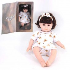 "Simulation Baby 16"" Cuddle Lifelike Baby Play Doll Soft Toy - 1625"