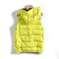 Lightweight Packable Compact Reversible Down Vest with Adjustable Hood - 8029