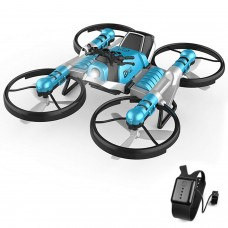 2 in 1 Deformation RC Folding Motorcycle Drone--Gravity Sensor Control Model