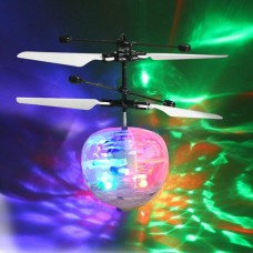 Toytexx Flying Squirrel Squadron - RC Flying Ball Drone Helicopter with LED Lights
