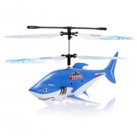FXD 3CH Mini Infrared RC Flying Shark Helicopter - A68693