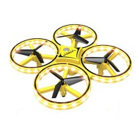 Infrared Obstacle 2.4G Gravity Sensor Remote Hand Control Quadcopter with LED Light - D14