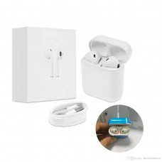 IFANS i8 tws Bluetooth V4.2+EDR Wireless Earbuds Headphones with Magnetic charging box for iPhone,Android Cell phones (White)
