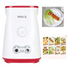 Hands-Free Automatic Electric Vertical Nonstick Easy Quick Egg Cooker Breakfast Egg Sausage Roll Machine Egg Roll Maker Egg Master Double Holes 2 Grill Tubes
