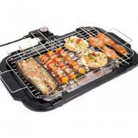 Portable Household Smokeless Barbecue Grill Pan
