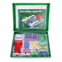 Smart Electronics DIY Building Block, Educational Science Circuits Kits