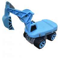 Toytexx Kids Excavator Ride-On Toy Sand Digger Children Pretend Play Truck Toy