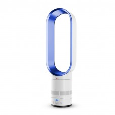 Bladeless Fan Air Purifier Airflow Cooling Fan w/ Remote Control
