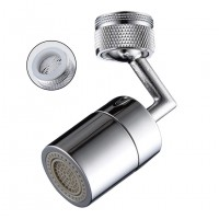 360 Degree Swivel Faucet Extender with Mesh Mouth Anti-Splash Head for Bathroom Kitchen