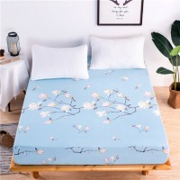 Cute Cartoon Elastic Waterproof Fitted Bed Sheet -Sea World