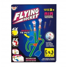 2-Player Flying Rocket Air Powered Foot Stomping Dart Foam Rocket - 777-730C