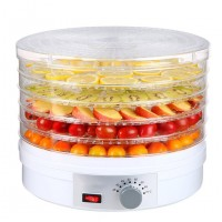 5-Layer Countertop Portable Electric Food Fruit Dehydrator Machine with Adjustable Thermostat - SX770