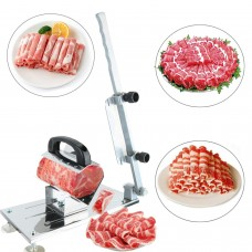 Manual Frozen Meat Slicer Mutton Roll Frozen Meat Grinder Planing Machine for Home Cooking Shabu Shabu