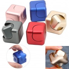 Stainless Steel Mini Cube Hand Spinner