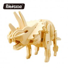 Robotime DinoBots D430 Sound-control Triceratops