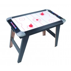 "20338 35"" Air Hockey Game Table with 2 Pucks & 2 Pushers"