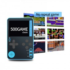 Portable Handheld Game Console Built-in 500 Classic 8 Bit Games 2.4 Inch Screen