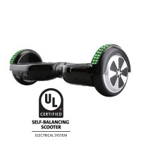 6.5 Inch Hoverboard with Front Light, LED Light Bluetooth UL2272 Certified