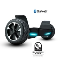 8 Inch Off Road Hoverboard with Front Light, Carryimg Bag And Bluetooth UL2272 Certified