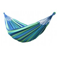 Portable Outdoor Soft Cotton Hammock Double Wide for 2 Person