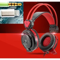 X8S Hi-Fi Over-Ear Phone Gaming Headset with Mic and LED Light for I phone