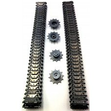 Henglong 3839 1/16 RC tank upgrade parts  metal track