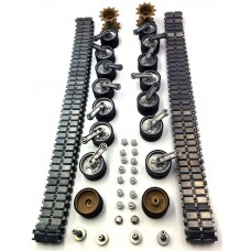 Henglong 3918 1/16 RC tank upgrade parts metal driving wheels and metal track