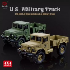 HengLong 1/16 4WD High-Imitation RC U.S. Military Truck